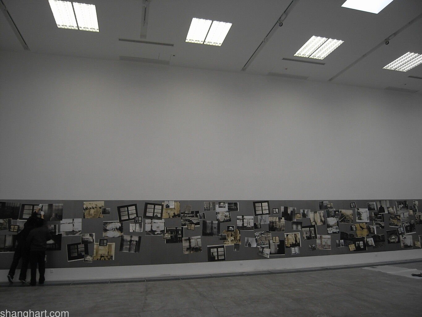 Installation view of the photography work 1