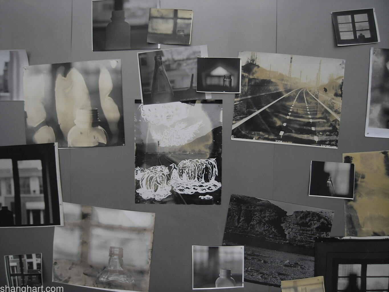 Installation view of the photography work (detail)