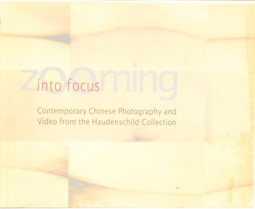 Into Focus /,Contemporary Chinese Photography and Video from the Haudenschild Collection